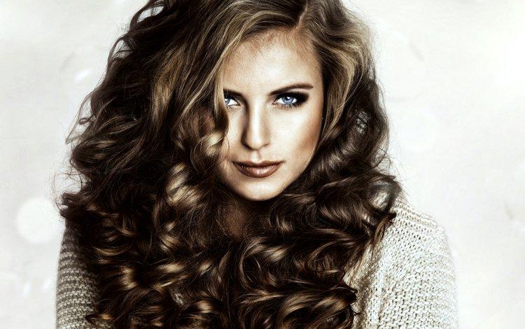 глаза, лицо, девушка, портрет, брюнетка, взгляд, модель, кудри, волосы, eyes, face, girl, portrait, brunette, look, model, curls, hair