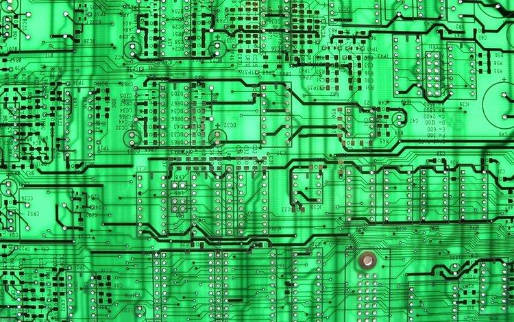 зелёный, фон, плата, микросхема, фишка, circuit board, грин, чип, микрочип, интегральная схема, integrated circuits, green, background, fee, chip, the trick, microchip