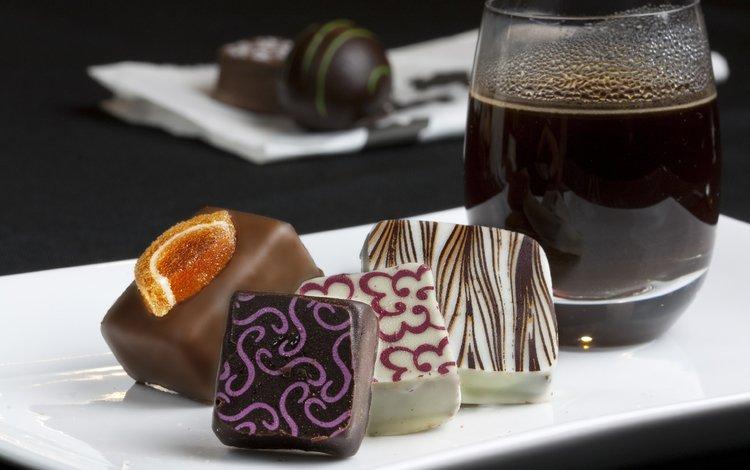 конфеты, шоколад, сладкое, candy, chocolate, sweet