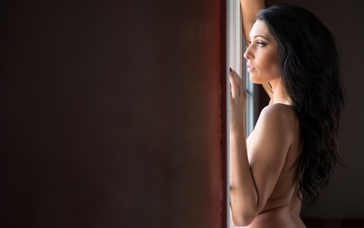 girl, background, pose, erotic