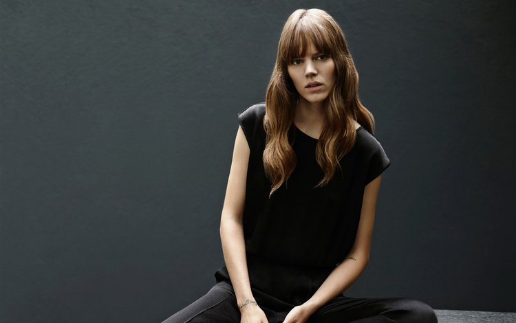 girl, blonde, model, photoshoot, hugo boss, freja beha erichsen, freya beha erichsen