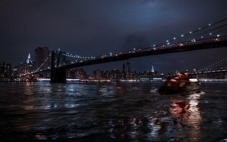ночь, огни, отражение, мост, город, фотограф, julia sariy, night, lights, reflection, bridge, the city, photographer