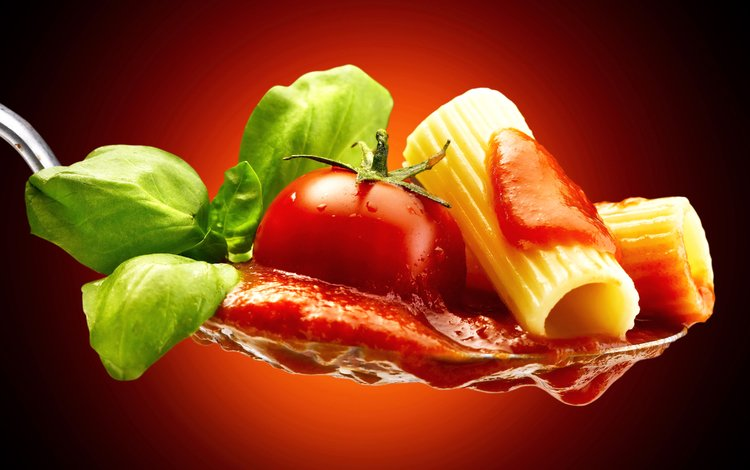 зелень, макро, помидор, ложка, соус, макароны, макарон, помидорами, greens, macro, tomato, spoon, sauce, pasta, tomatoes