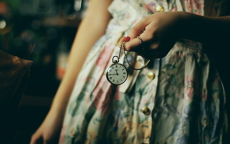 рука, платье, часы, цепочка, hand, dress, watch, chain