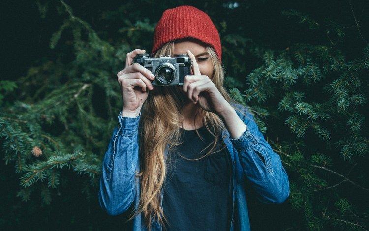 девушка, блондинка, фотограф, камера, girl, blonde, photographer, camera