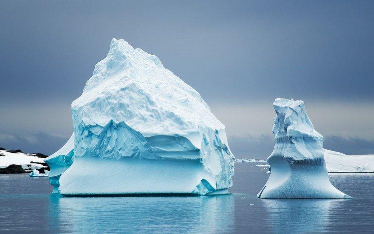 природа, лёд, айсберг, океан, антарктида, nature, ice, iceberg, the ocean, antarctica