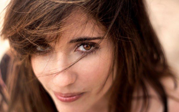 глаза, девушка, взгляд, волосы, шатенка, eyes, girl, look, hair, brown hair