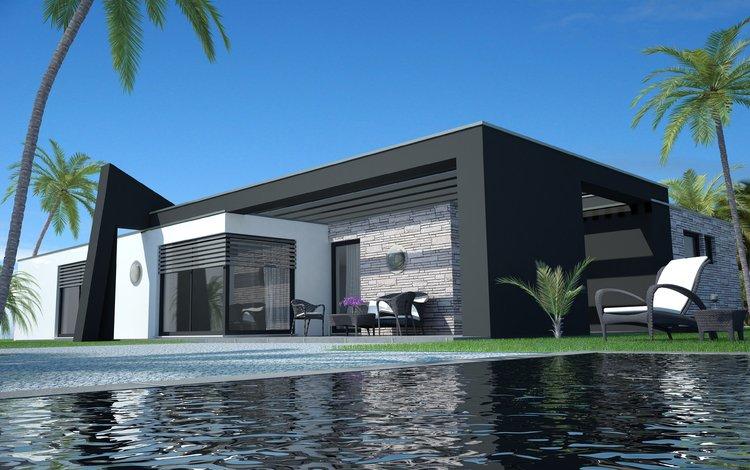 дом, бассейн, вилла, модерн, апартаменты, house, pool, villa, modern, apartments
