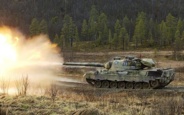 tank, volley, leopard 1