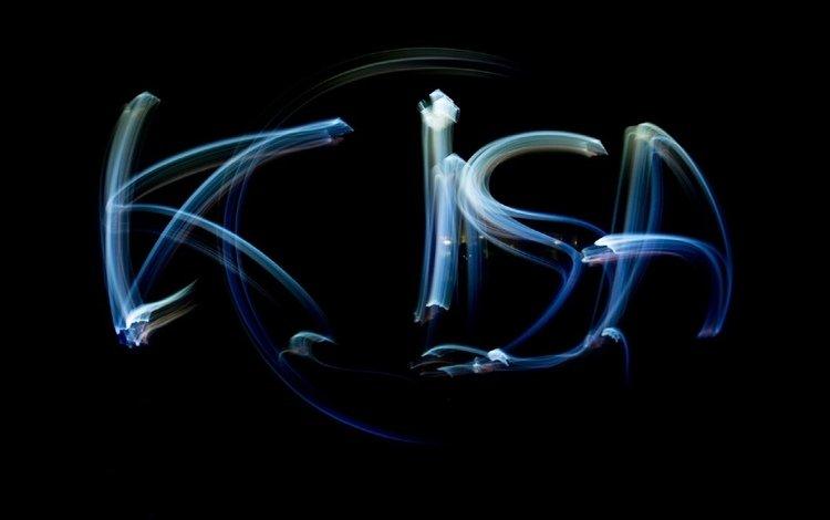 фон, надпись, темный, киса, background, the inscription, dark, kitty