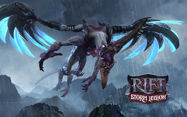 dragon, wings, the game, mouth, rift, storm legion