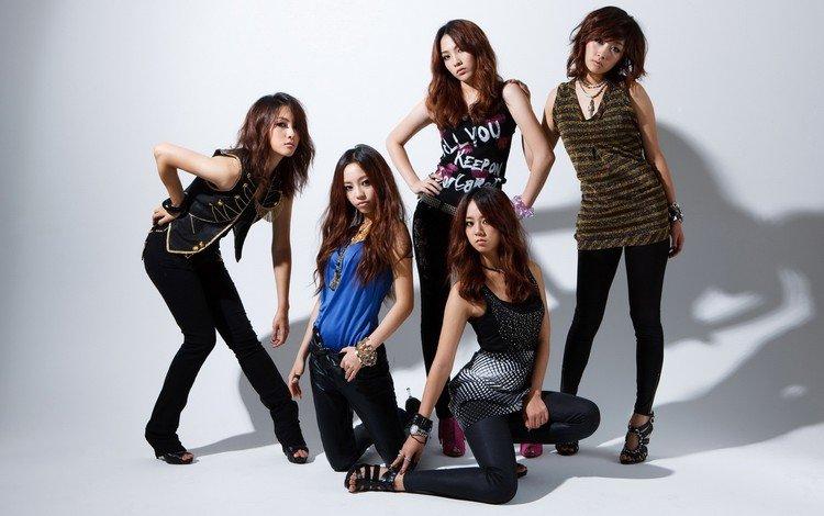 девушки, белый фон, красивые, азиатки, позы, girls, white background, beautiful, asian girls, poses