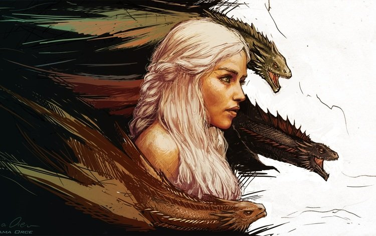 арт, игра престолов, mother of dragons, дейенерис таргариен, art, game of thrones, daenerys targaryen