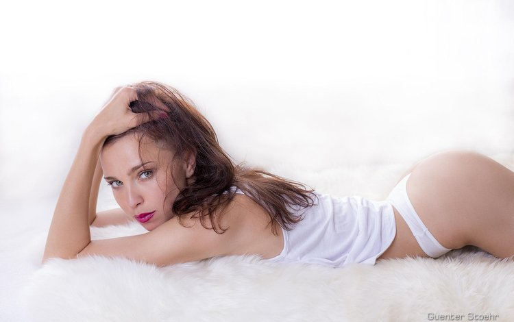 pose, look, panties, beauty, hair, photographer, lips, ass, passion, face, guenter stoehr