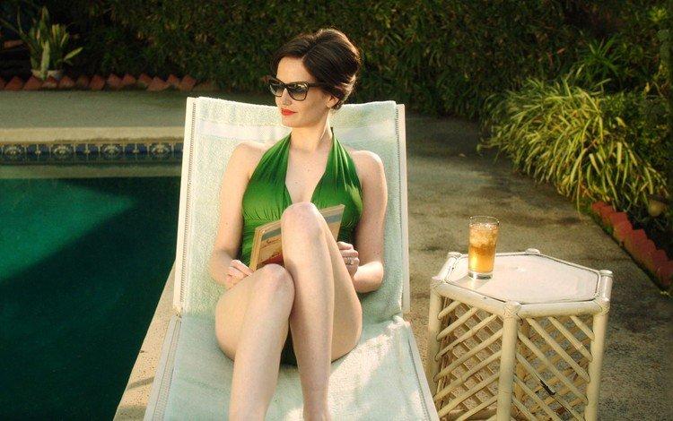 глаза, очки, волосы, актриса, ева грин, eyes, glasses, hair, actress, eva green