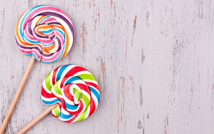 candy, colorful, the sweetness, lollipops