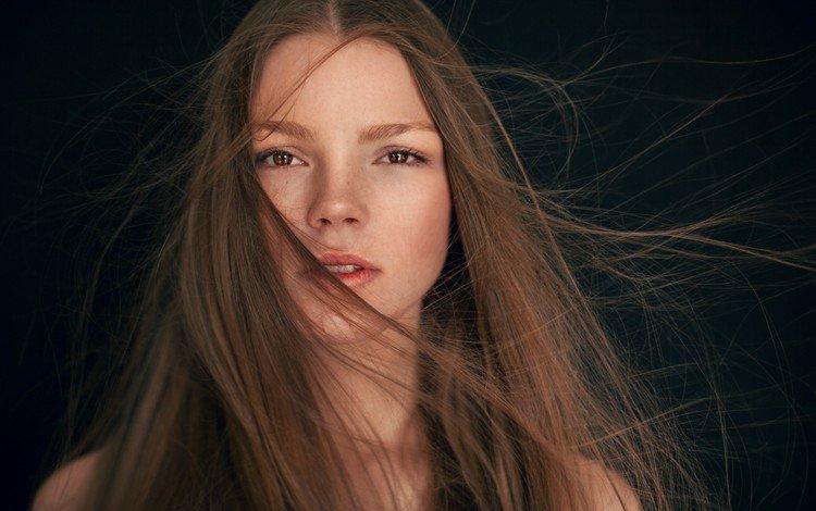 глаза, девушка, фон, волосы, губы, лицо, eyes, girl, background, hair, lips, face