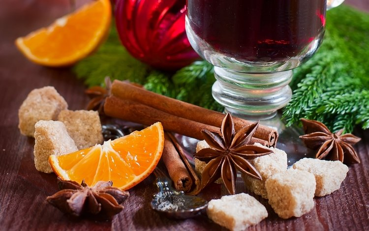 корица, апельсин, сахар, бадьян, cinnamon, orange, sugar, star anise