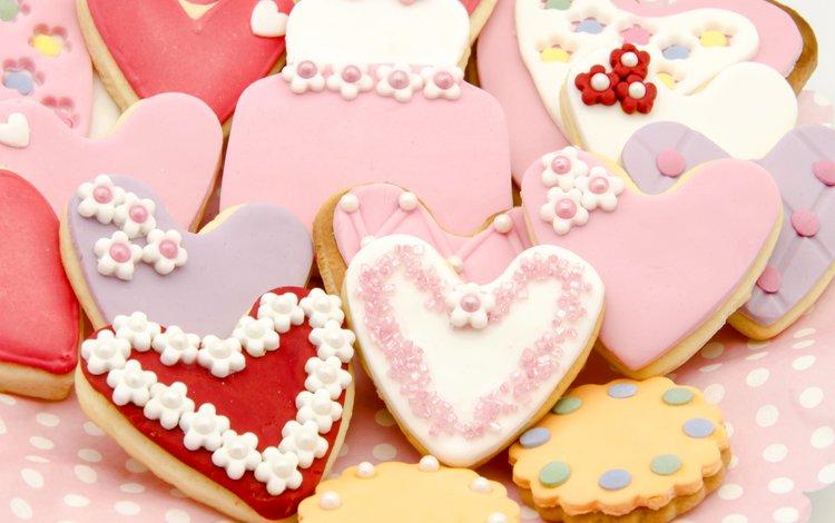 сердце, печенье, выпечка, глазурь, baking, фигурное, сладенько, сердечка, heart, cookies, cakes, glaze, figure, sweet