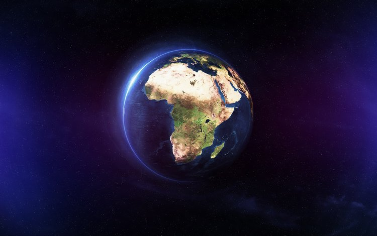 earth, africa, the ocean