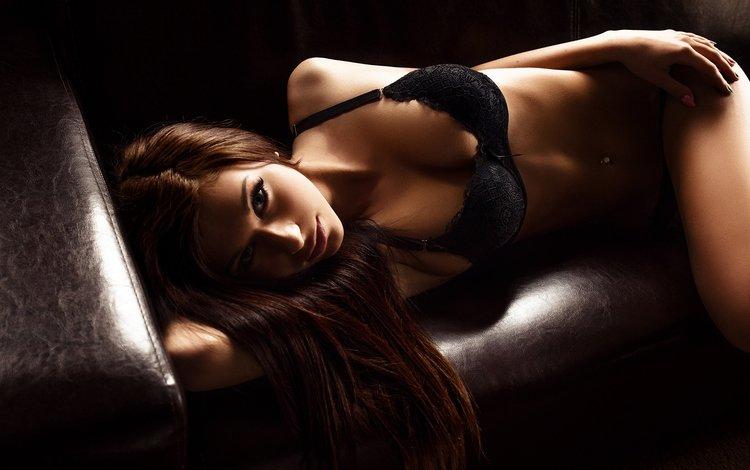 девушка, пирсинг, взгляд, белье, грудь, krzysztof budych, фотограф, губы, лицо, секси, тело, girl, piercing, look, linen, chest, photographer, lips, face, sexy, body