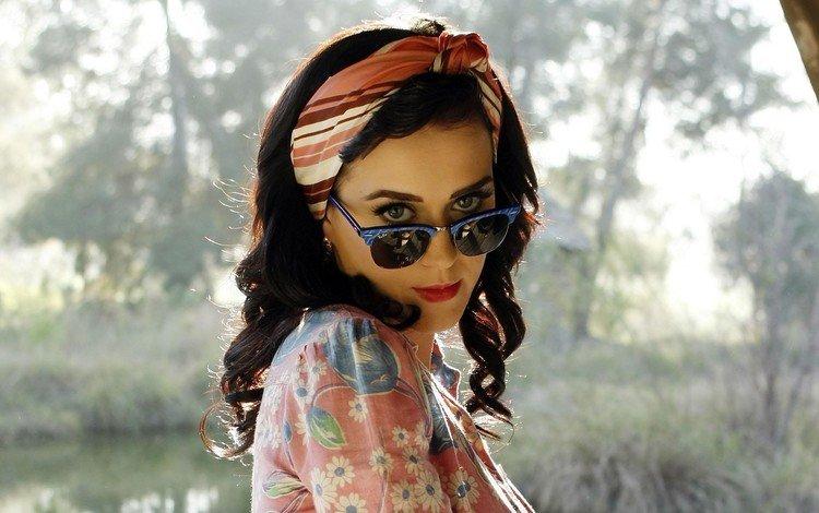 девушка, взгляд, очки, певица, кэти перри, знаменитость, кети перри, girl, look, glasses, singer, katy perry, celebrity