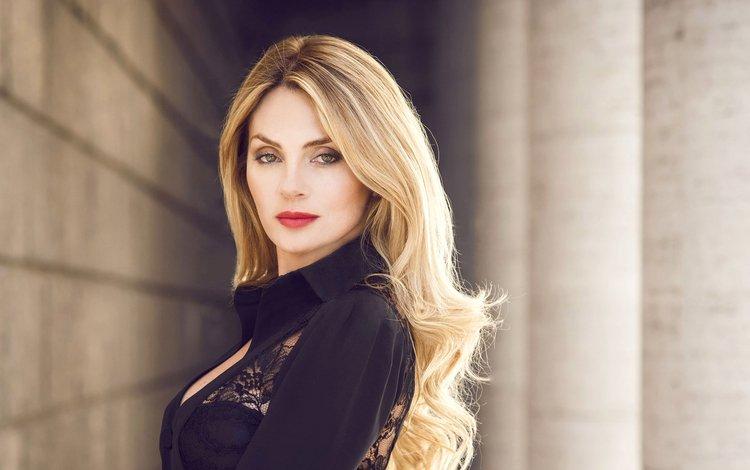 девушка, блондинка, портрет, взгляд, модель, волосы, лицо, виктория гоц, girl, blonde, portrait, look, model, hair, face, victoria gots