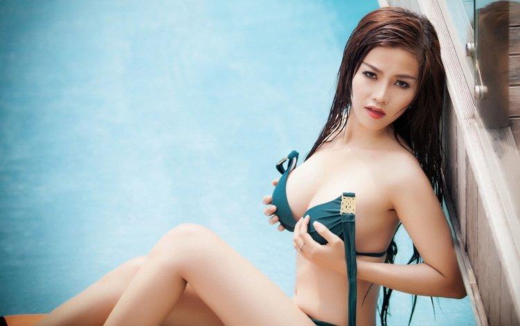 девушка, поза, азиатка, girl, pose, asian