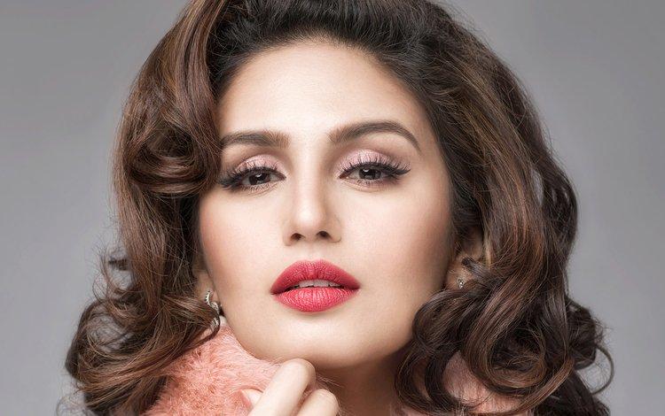 девушка, индийская, портрет, хума куреши, взгляд, модель, волосы, лицо, актриса, знаменитость, girl, indian, portrait, huma qureshi, look, model, hair, face, actress, celebrity