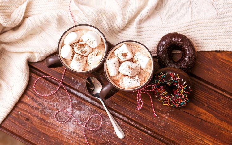 кофе, сладости, напитки, сладкое, чашки, выпечка, кубок, кулич, маршмеллоу, marshmallows, coffee, sweets, drinks, sweet, cup, cakes, cake
