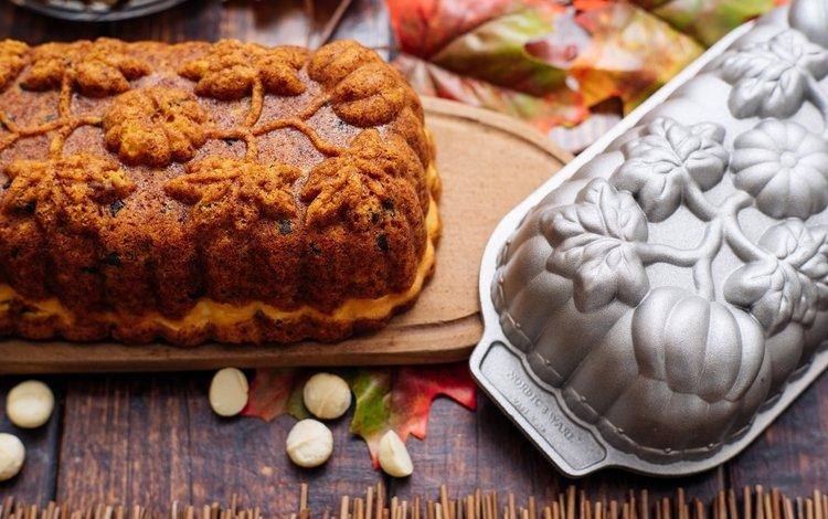 орехи, узор, форма, выпечка, кекс, nuts, pattern, form, cakes, cupcake