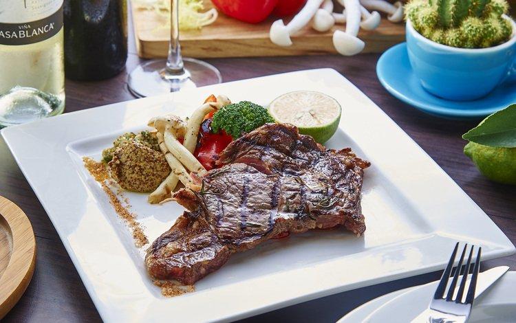 лайм, мясо, брокколи, спаржа, гриль, lime, meat, broccoli, asparagus, grill