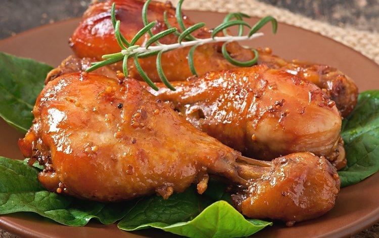 legs, meat, chicken