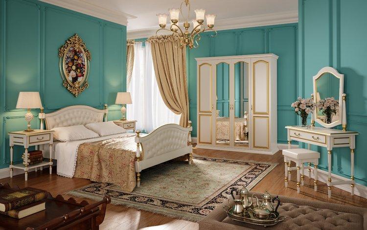 спальня, bedroom