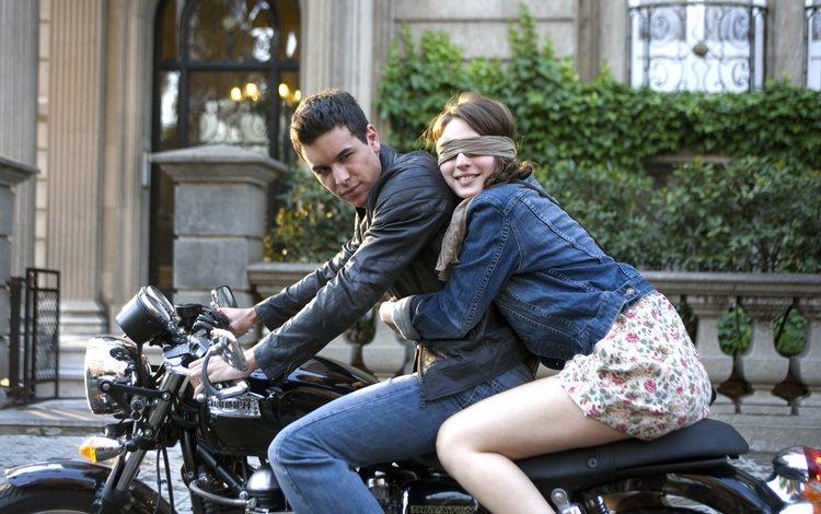 girl, guy, love, motorcycle, hugs, mario casas, maria valverde, three meters above the sky