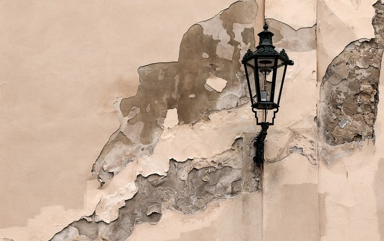 background, wall, lantern
