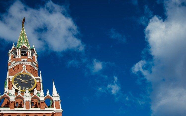 небо, облака, москва, кремль, россия, архитектура, the sky, clouds, moscow, the kremlin, russia, architecture