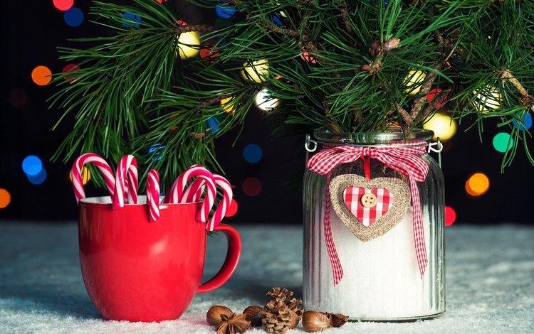 огни, арка, рождество, боке, рождественские, иль, lights, arch, christmas, bokeh, il