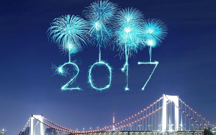 новый год, фейерверки, 2017, счастливый, new year, fireworks, happy