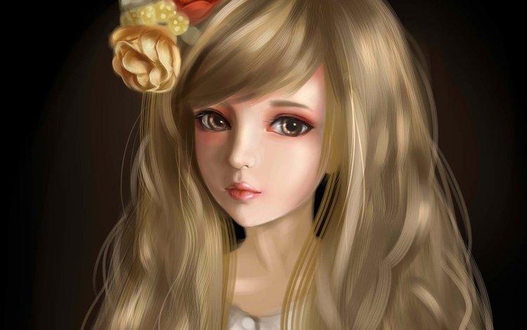 арт, девушка, портрет, красавица, art, girl, portrait, beauty