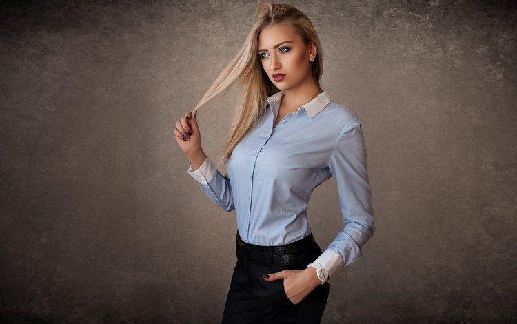 девушка, блондинка, взгляд, модель, лицо, girl, blonde, look, model, face