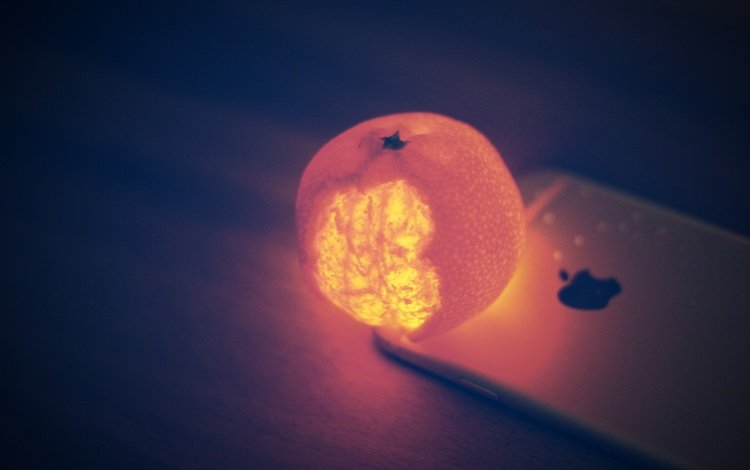 подсветка, мандарин, айфон, backlight, mandarin, iphone