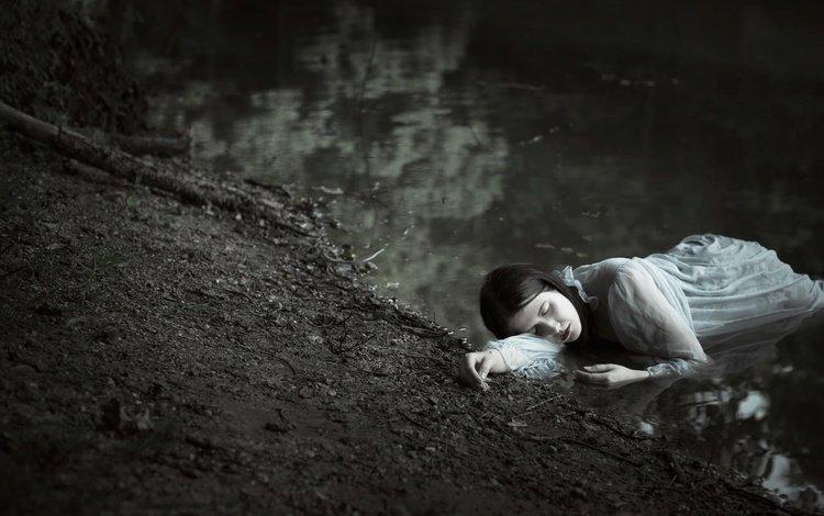 river, girl, sylwia mastalerz