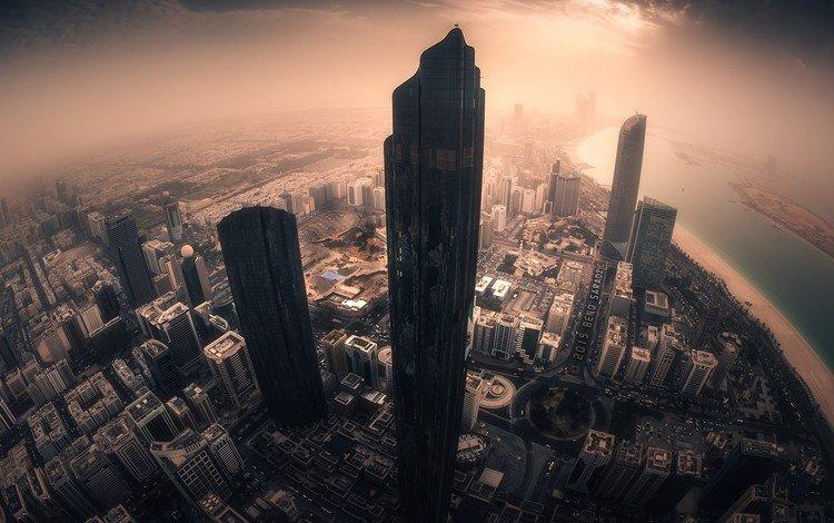 город, небоскребы, оаэ, абу-даби, абу - даби, the city, skyscrapers, uae, abu dhabi