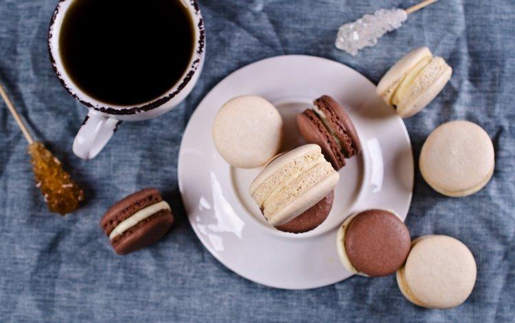 кофе, миндальное, чашка, крем, печенье, coffee cup, выпечка, десерт, макарун, макаруны, сладенько, coffee, almond, cup, cream, cookies, cakes, dessert, macaron, macaroon, sweet