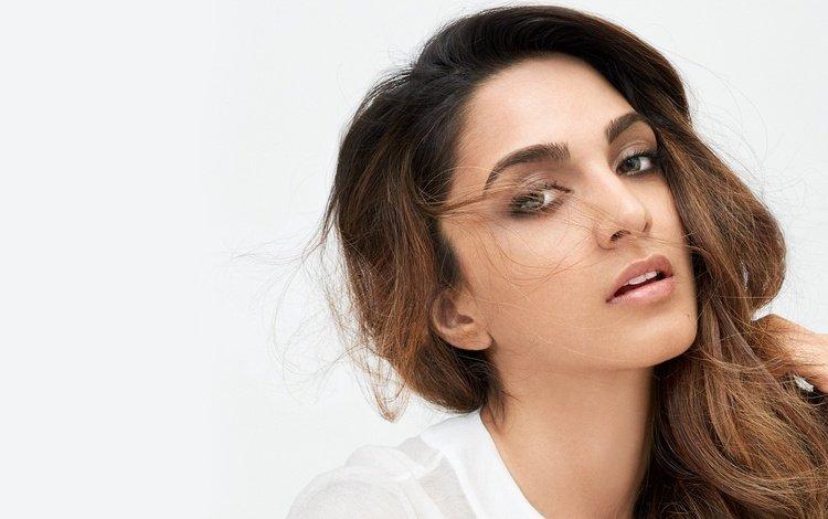 глаза, индийская, девушка, киара адвани, брюнетка, модель, губы, лицо, актриса, болливуд, eyes, indian, girl, kiara advani, brunette, model, lips, face, actress, bollywood