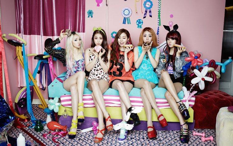 музыка, девушки, южная корея, k-pop, ladies code, music, girls, south korea