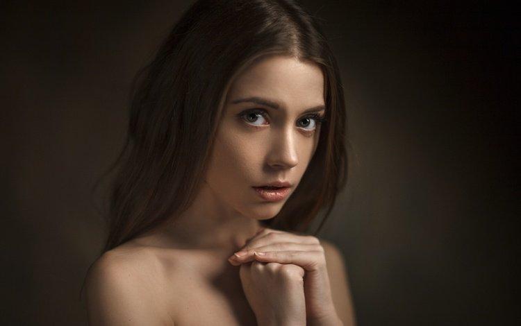 девушка, vasiliy zhukov, портрет, взгляд, модель, волосы, лицо, ксения, ксения кокорева, girl, portrait, look, model, hair, face, xenia, kseniya kokoreva