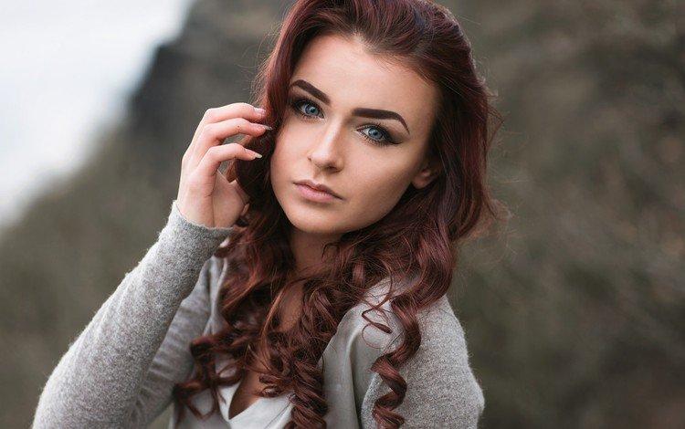 девушка, взгляд, модель, волосы, губы, лицо, girl, look, model, hair, lips, face