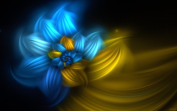 абстракция, линии, фон, цветок, цвет, спираль, фрактал, abstraction, line, background, flower, color, spiral, fractal